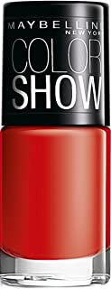 Maybelline New York Color Show Nail Enamel, Keep Up The Flame, 6ml
