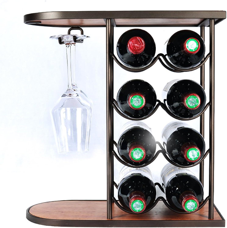 Fashoin capital Creativo rojo Wine Glass Rack Vino Hogar Wine Glass Holder rojo Wine Cup Holder Europea Wine Rack Hanging Wine Stand uno Use más Opciones (Tamaño   40  18.5  42cm)