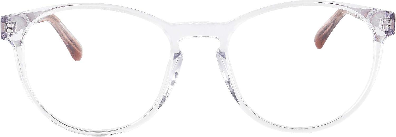 MEDOLONG Women's Blue Phoenix Mall Light Blocking Temp Glasses Wood Hyperopia Denver Mall