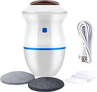 Portable Electric Foot Grinder - USB Electronic Foot File Pedicure Tools, Feet Care Perfect for Dead,Hard Cracked Dry Skin(Blue)