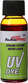 Interdynamics Certified A/C Pro Engine Cooling Systems UV Dye (1 Ounce)