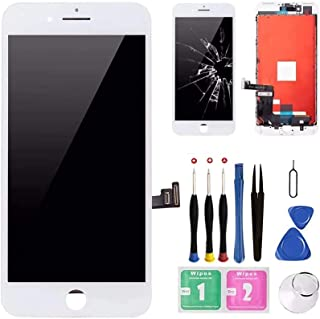 Best for iPhone 7 Plus Screen Replacement White- Diykitpl Screen Replacement Kit for iPhone 7 Plus 5.5 inch, 3D Touch LCD Digitizer Display Screen Compatible for A1661 A1784 A1785 with Repair Tool +Protect Review