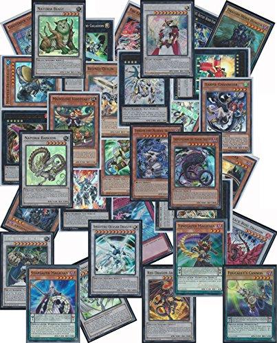 YuGiOh Assorted Card Lot - 20 Mint Cards - 10 Rares, 10 Holo (1 Synchro, 1 XYZ, 1 Pendulum, 1 Secret, 6 super rare)