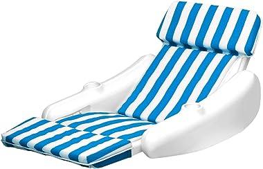 Swimline SunChaser Padded Floating Luxury Chair Pool Lounger