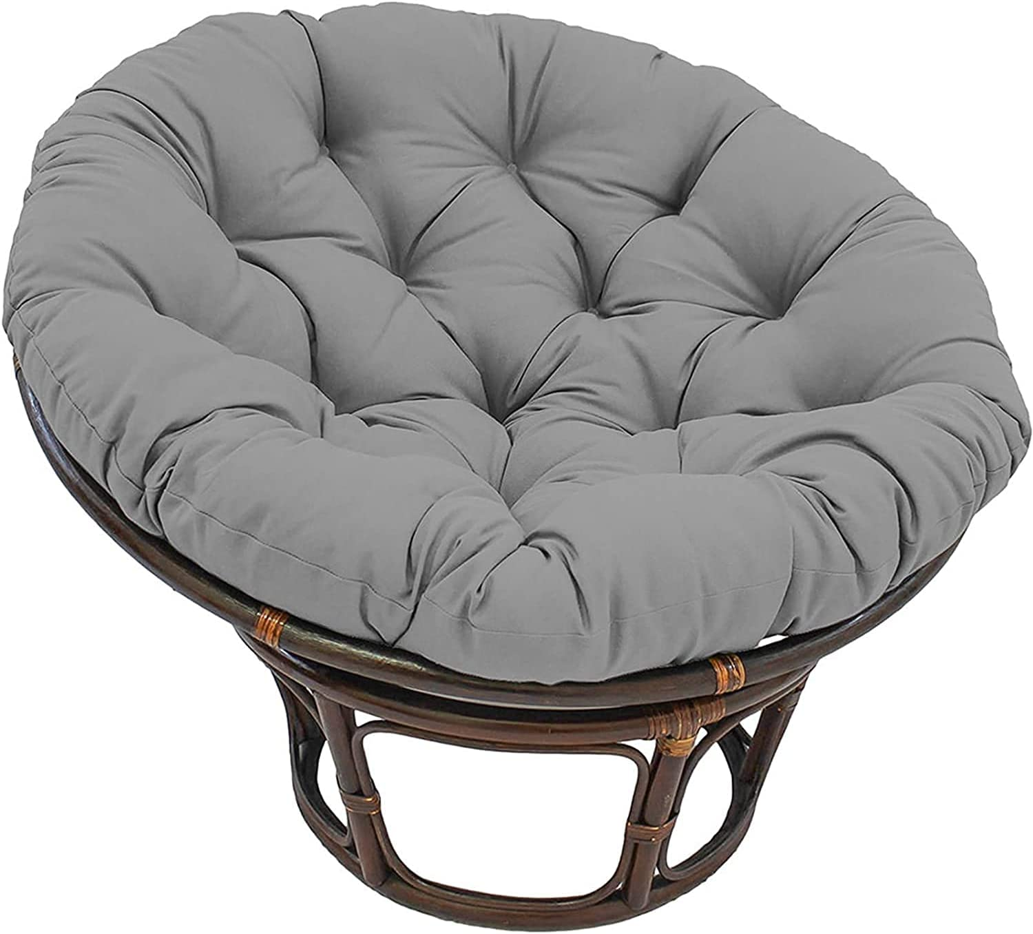 Saucer Chair Papasan Cushion Home Moon Ranking TOP11 Online limited product Outdoor Pad