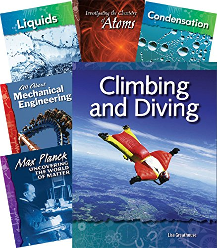 Teacher Created Materials - Physical Science Under the Microscope Collection - 18 Book Set - Grades K-4 - Guided Reading Level G - T