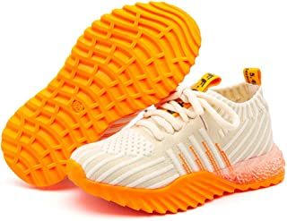 Daclay Chaussures Enfants Chaussures de Sport garçons et Filles Maille Chaussures de Sport Chaussettes pour Enfants Chauss...