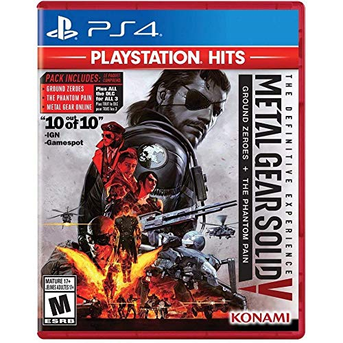 Metal Gear Solid V: The Definitive Experience Playstation Hits - Ps4