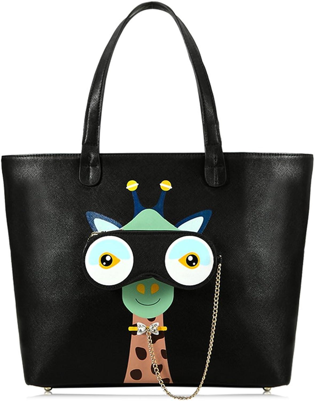 Muyu 2018 Japan Style Cute Soft PU Zipper Closure Women Handbags