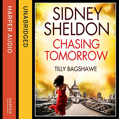 Sidney Sheldon's Chasing Tomorrow audiobook cover art