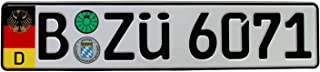 german license plate format
