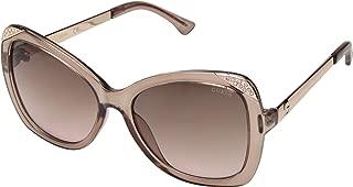 GUESS Factory Women's Square Rhinestone Sunglasses