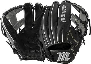 Marucci Oxbow Series 11.5 Inch Baseball Glove (Mfgox115-Bk/Gy) I Web Black.