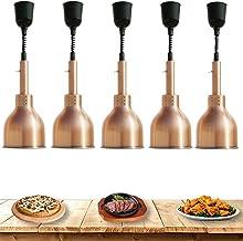 sahadsbv Lampe chauffante Commerciale Réchauffeur de Nourriture, lumière de Chauffage de Buffet pour Garder Les Aliments a...