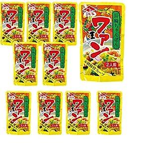 長崎ちゃんぽんスープ ワァン 80g2人前×10袋 ニビシ醤油
