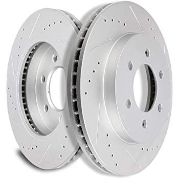 NEW Motorcraft Front Disc Brake Rotor NBRR-6 Ford F-150 5 Lug 4WD w// ABS 1998-06