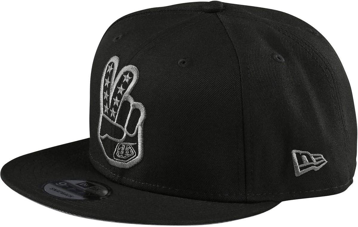 Troy Lee Designs Peace Sign Snapback Hat (Black)
