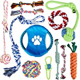 Oziral Dog Rope Toys [12 Pack] Puppy Braided Rope Toys Set Pet Dog