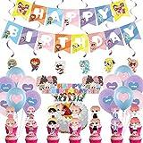 BTS Birthday Decorations Set, NALCY 36 Pcs BTS Conjunto de Decoración de...