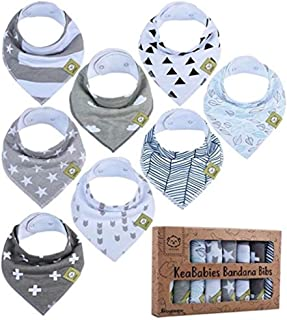Baby Bandana Drool Bibs - Bandana Bibs for Boys, Girls by...