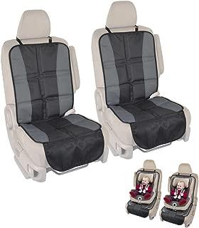 BDK SC-058 2 InstaSeat Protector for Under Child Car Seat (2 Pieces) – Premium Non-Slip Waterproof Cover for Sedan, Van, Truck and SUV
