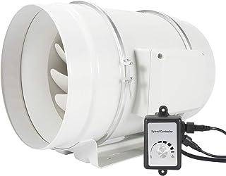 Hon&Guan Extractor de Aire Silencioso 200mm con