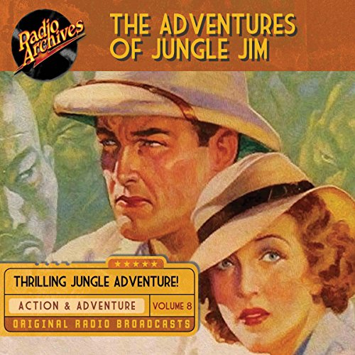 The Adventures of Jungle Jim, Volume 8 cover art