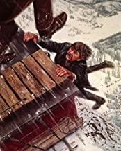 Nostalgia Store Breakheart Pass 14x11 Promotional Photograph Charles Bronson as Deakin clinging on to roof of rail car art...