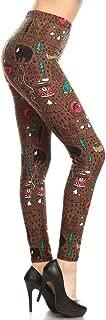 Women's Ultra Soft Printed Fashion Leggings BAT13