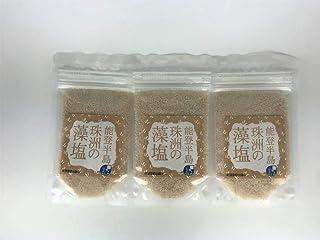 新海塩産業 能登半島 珠洲の藻塩3個セット