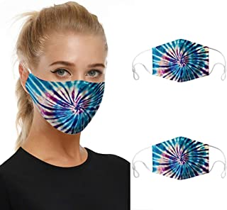 2pc Mouth Masks for Dust Protection Anti Face Mask Washable Adjustable Earloop Mask Aadiju