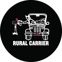 Rural Mail Carrier Tire Cover 26