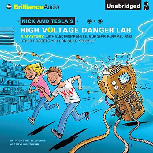 Nick and Tesla's High-Voltage Danger Lab cover art