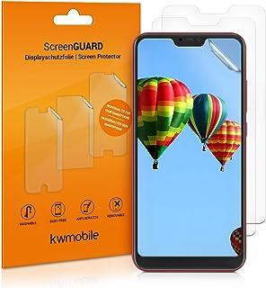 kwmobile 3x pellicola salvaschermo compatibile con Xiaomi Redmi 6 Pro/Mi A2 Lite - Film protettivo proteggi telefono - pro...