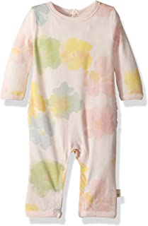 Baby Girls' Romper Jumpsuit, 100% Organic Cotton...