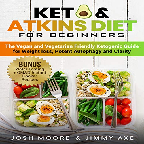2-in-1 Bundle: Keto & Atkins Diet for Beginners + 30 Days Challenge  By  cover art