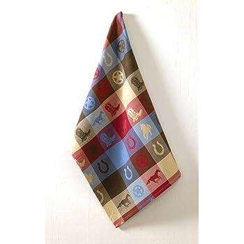 Kay Dee Designs R3775 Grace /& Beauty Happiness Horses Flour Sack Towel KayDee Designs
