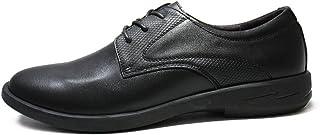メンズレザーローファーシューズ ブラックレザービジネスシューズ ? メンズカジュアル 靴 ローファーシューズ (色 : ブラック, サイズ : 25.5 cm)