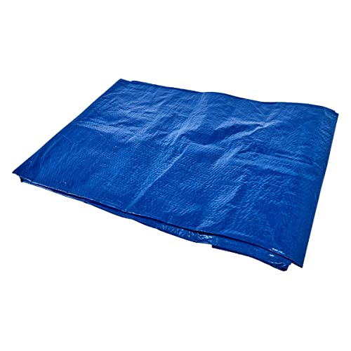 Am-Tech S4750 Tarpaulin - Blue, 6 x 9 ft