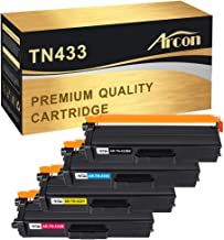 Arcon Compatible Toner Cartridge Replacement for Brother TN-433 TN433 HL L8360CDW HL-L8360CDWT MFCL8610CDW HL-L8260CDW MFCL9570CDW MFC-L8900CDW HL-L8360CDW Color Laser All-in-One TN433 TN-431