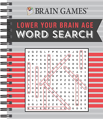 Brain Games - Lower Your Brain Age - Word Search