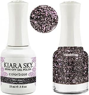 Kiara Sky Matching Gel Polish + Nail Lacquer, Melt Away, .5 fl. oz
