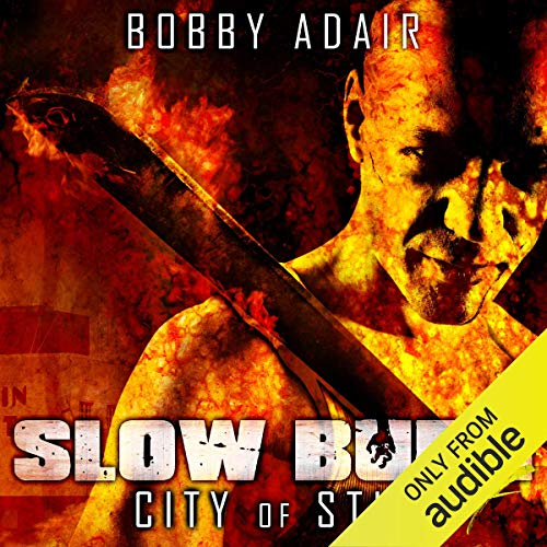 Slow Burn: City of Stin, Book 7 audiobook cover art
