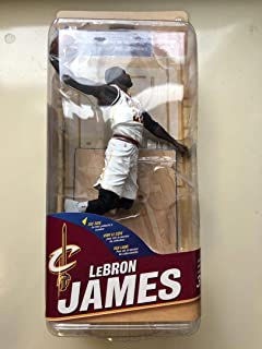 McFarlane NBA Sports Picks Series 31 Lebron James Action Figure Cleveland White Jersey (Chase Variant Limited to 250)