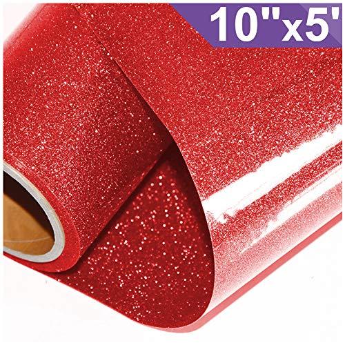 Best cricut iron on glitter red for 2020