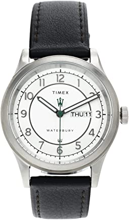 39 mm Waterbury Traditional Day-Date Stainless Steel Case