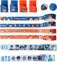 BTS Map of The Soul 7 Tearable Masking Tape Bangtan Boys Tape Stickers Set, Gift for Army Daughter