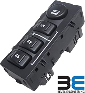 [Updated Version] 4x4 4wd Switch 901072 for Chevy Silverado GMC Sierra 4 Wheel Drive Switch Transfer Case Replace 15136039 15164520 19259313