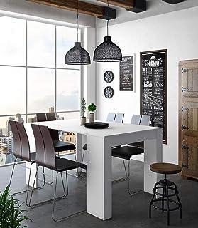 Home Innovation - Table Console Extensible, rectangulaire avec rallonges, jusqu'à 140 cm, pour Salle à Manger et séjour, B...