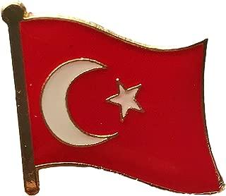 National Flag International Travel Pins